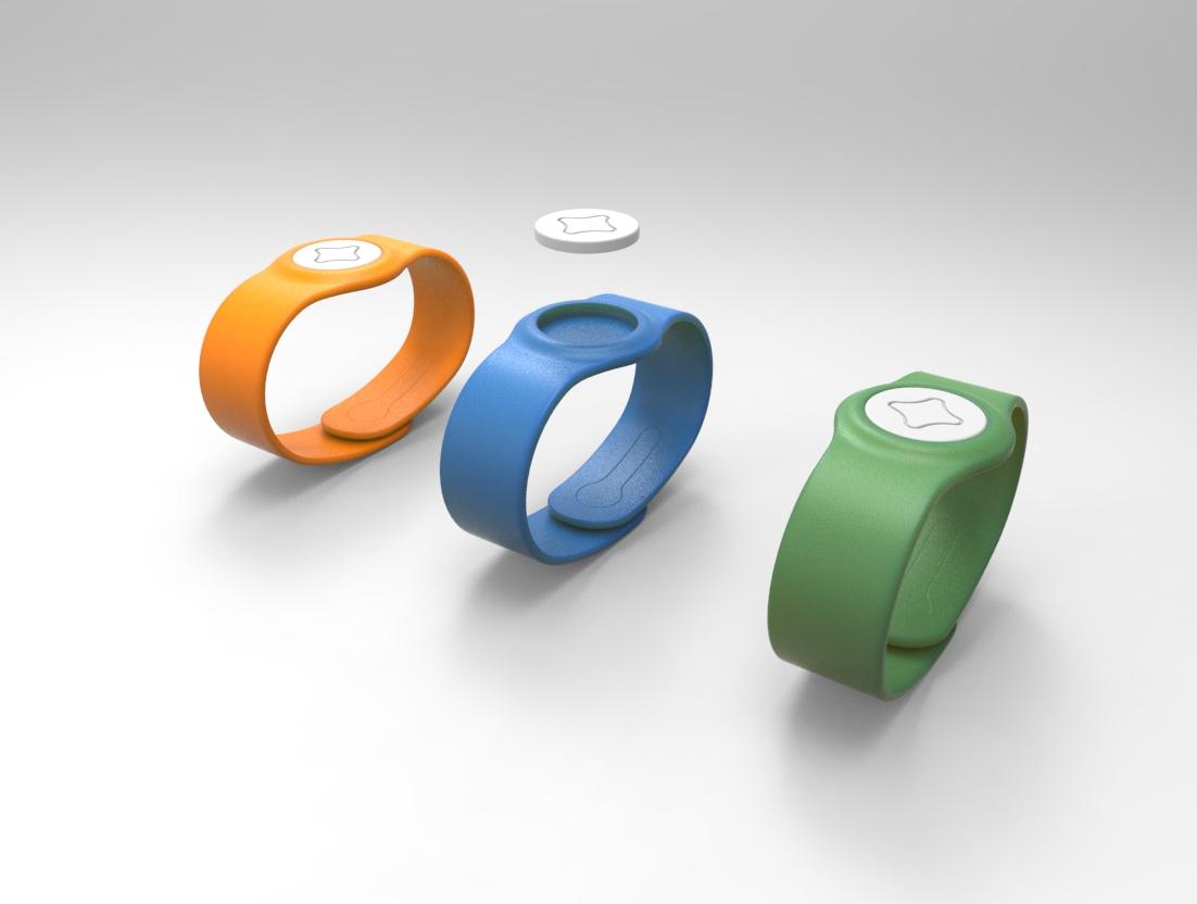 LedSwim-NFC bracelet